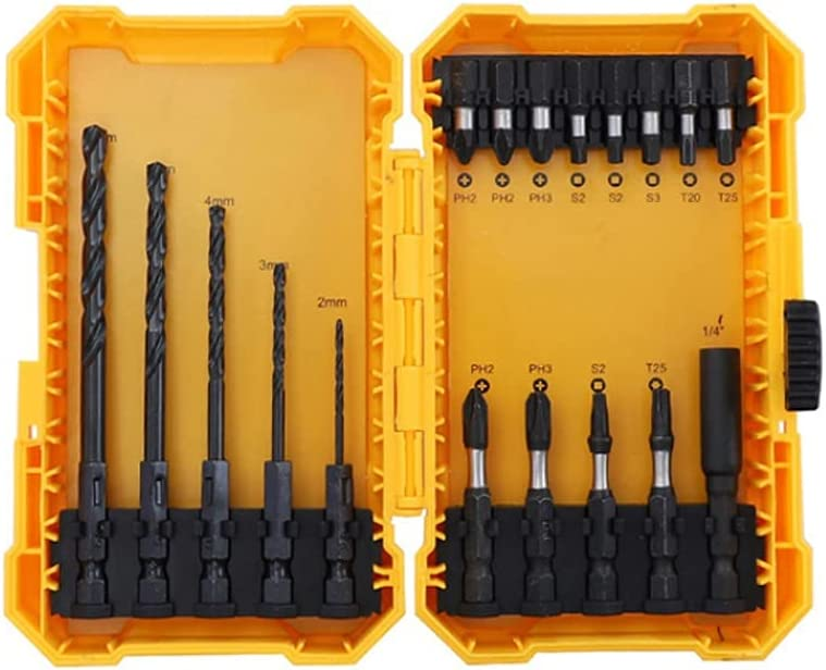 wxgj All stores are sold 18 42Pcs Impact Bits Screwdriver Drill Electric Max 58% OFF Set S2