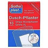 Gothaplast Duschpflaster Strips Wundpflaster Größe XL wasserdicht, 10 St. Pflaster