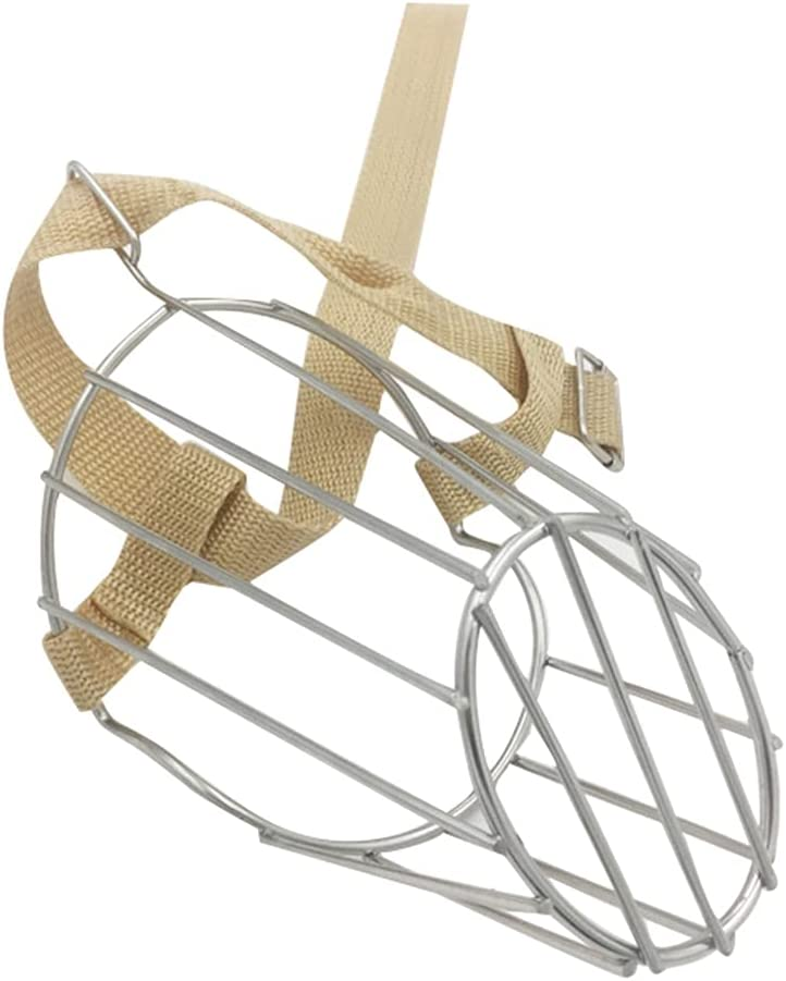 PetPhindU Dog Muzzle Wire Ranking integrated 1st place Stainless with Steel Basket All items in the store