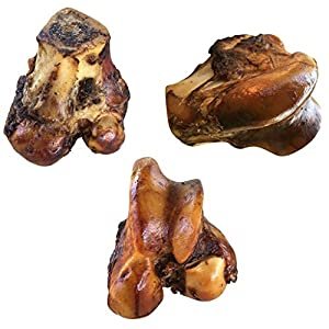 K9 Connoisseur Single Ingredient Dog Bones Made in USA for Large Breed Aggressive Chewers All Natural Long Lasting Meaty Mammoth Marrow Filled Bone