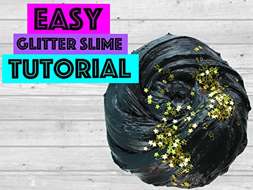 Easy Glitter Slime Tutorial