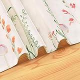 Smurfs Yingda Tischläufer Druck-Motiv mit Blumenmuster Vintage Frühling Schmetterlinge Tischdecke Tischband Polyester abwaschbar weiß 35x180cm - 6