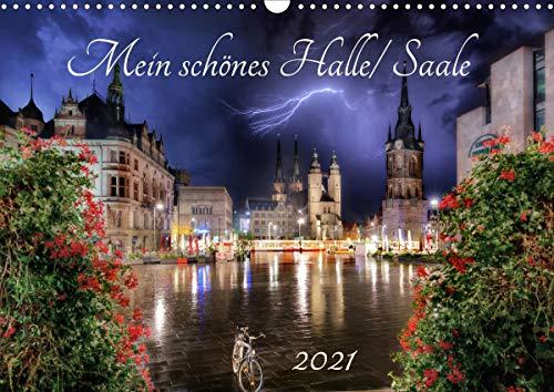 Mein schönes Halle/Saale 2021 (Wandkalender 2021 DIN A3 quer)