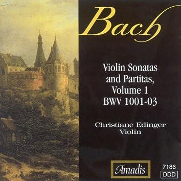 Bach, J.S.: Sonatas and Partitas for Solo Violin, Vol. 1