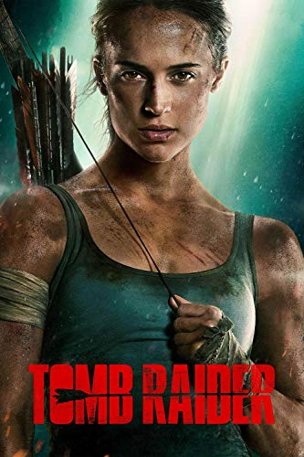 JIUZI-Diy Kits De Pintura De Diamante 5D Para Adultoscarteles De Películas De Tomb Raider -Bricolaje Artesanal De Diamantes De A Mano Para La Decoración De La Del Hogar