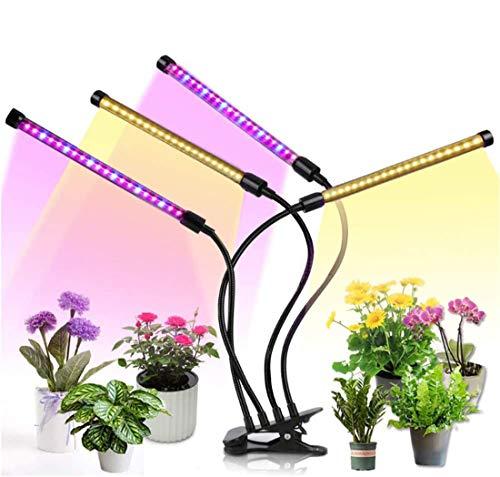 植物育成ライト led SHUIBIAN 育成ライト タイマー 育苗ライト 角度調整可能 観葉植物 多肉植物 水耕栽培 [並行輸入品]