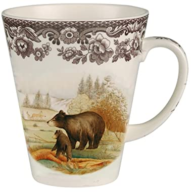 Spode Woodland American Wildlife Black Bear Mug