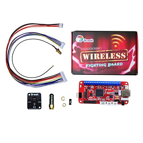 Mcbazel ワイヤレスファイティングボード Wireless Fighting Board for PS3 / PS4 / Nintendo nintendo Switch / PC(X-Input)Brook
