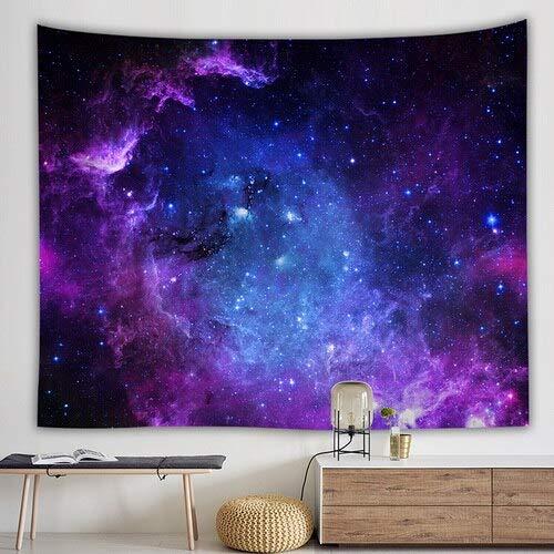 KHKJ Tapiz psicodélico de Galaxia para Colgar en la Pared Galaxia Decorativa Patrón Espacial Alfombra de Pared Tapices Decorativos para el hogar A2 150x130cm