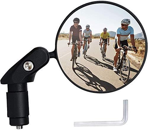 Ytorgr Specchietti Bici, Specchio Convesso, 360° Regolabile Ruotabile Specchietto Retrovisore for Bicicletta/Bici elettrica/Scooter/Motorino