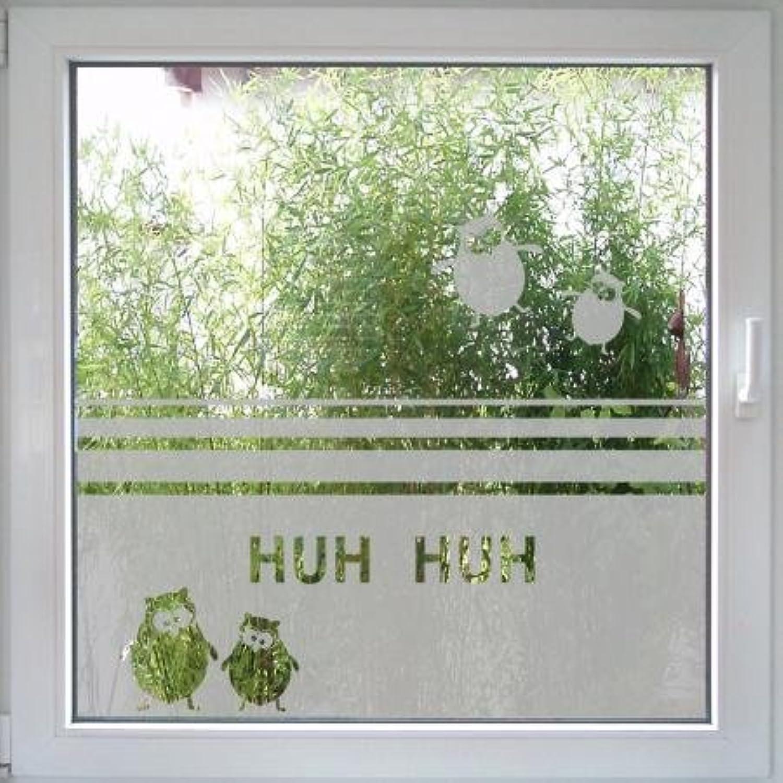 Fenstertattoo Owl Eule von Create&Wall    Fensterfolie mit Tiermotiv B007UNVIDS 5472ae