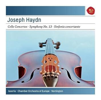 Haydn: Cello Concertos No. 1 In C Major & No. 2 In D Major; Symphony No. 13 In D Major; Sinfonia Concertante In B-Flat Major