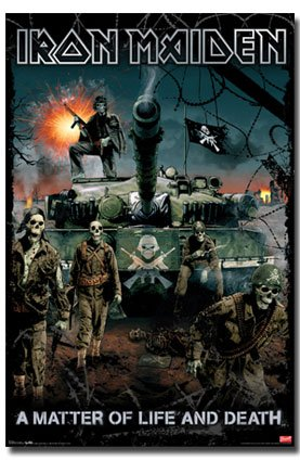 Iron Maiden Poster A Matter Of Life And Death