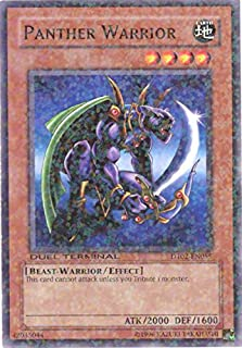 Yu-Gi-Oh! - Panther Warrior (DT02-EN055) - Duel Terminal 2 - 1st Edition - Common