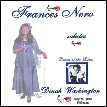 Frances Nero Salutes Dinah Washington