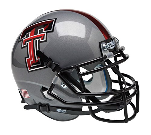 Schutt NCAA Texas Tech Red Raiders Mini Authentic XP Football Helmet