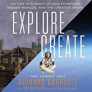 Explore/Create audiobook cover art