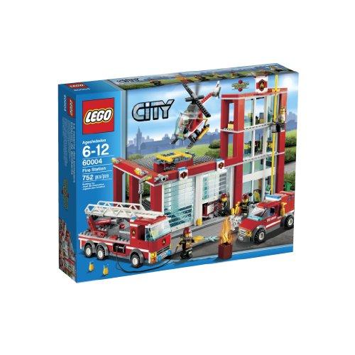 Firehouse Building Block Set