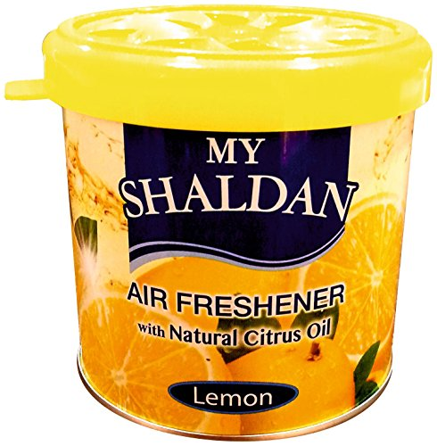 My Shaldan Lemon Car Air Freshener (Yellow, 80 g)