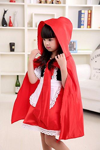 Disfraz de Caperucita Roja para Halloween, para niñas, elegante ...