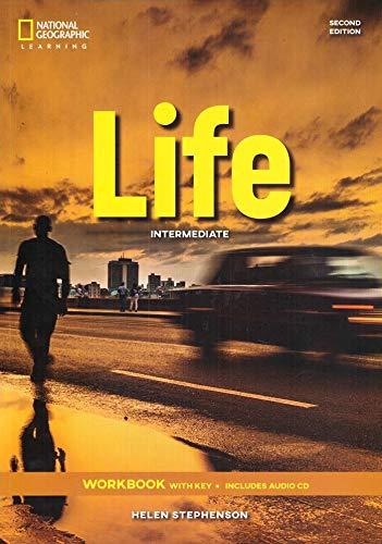 Life - Second Edition: B1.2/B2.1: Intermediate - Workbook + Audio-CD + Key [Lingua inglese]