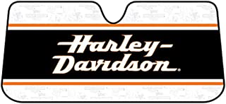Plasticolor 003726R01 Harley Stacked Logo Bubble Accordion Sun Shade
