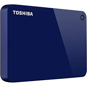 Toshiba (HDTC920XL3AA) Canvio Advance 2TB Portable External Hard Drive USB 3.0, Blue