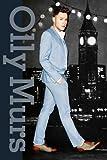 Olly Murs blau Anzug Maxi Poster, Mehrfarbig