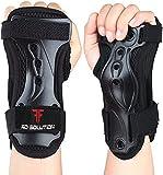 STSKing Juego de 2 muñequeras protectoras para patinaje en línea, protección para las manos, monopatín, niños, hombres y mujeres, con altos valores de amortiguación (M)