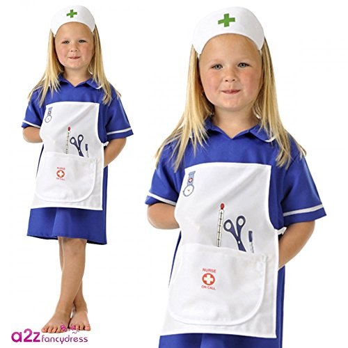 Nurse - Kids Costume (Blue) 3 - 5 years