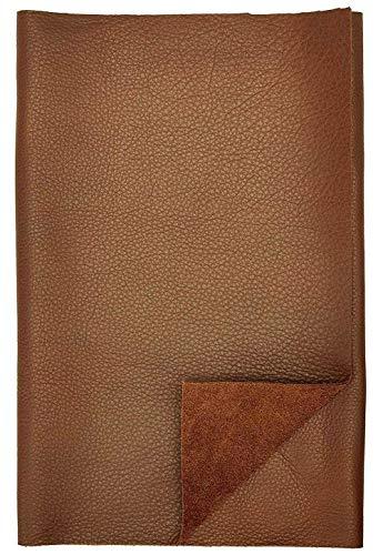 Teñido diseño antiguo 1,4 mm de grosor a5 marrón formato cuero genuino 47