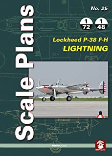 Lockheed P-38 F-H Lightning (Scale Plans)