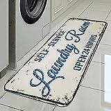 OPLJ Alfombrillas Antideslizantes Alfombrillas para lavadero Alfombrillas para Puertas de Entrada...