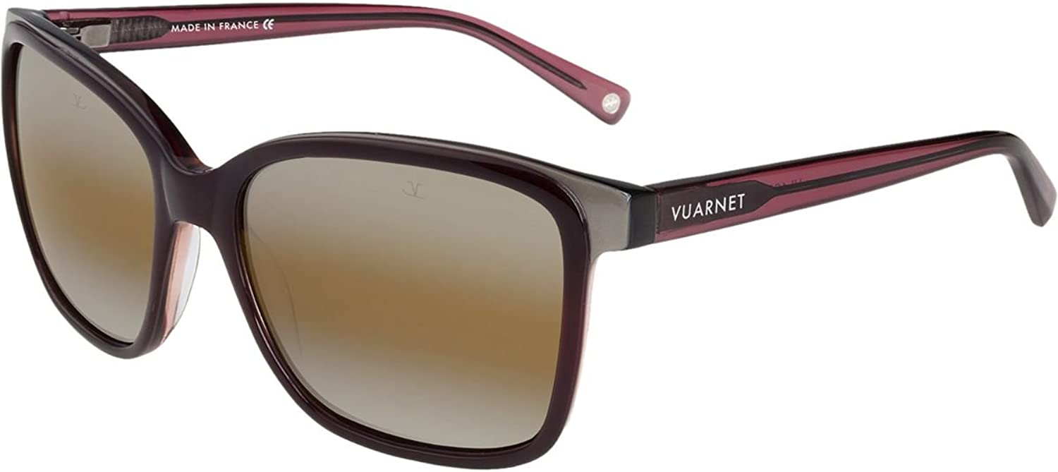 Vuarnet Sunglasses Vl 1309 0004 2136 Lifestyle Shiny Burgundy Vl130900042136