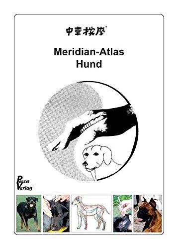Akupunkt-Massage nach Penzel am Hund: Meridian-Atlas Hund