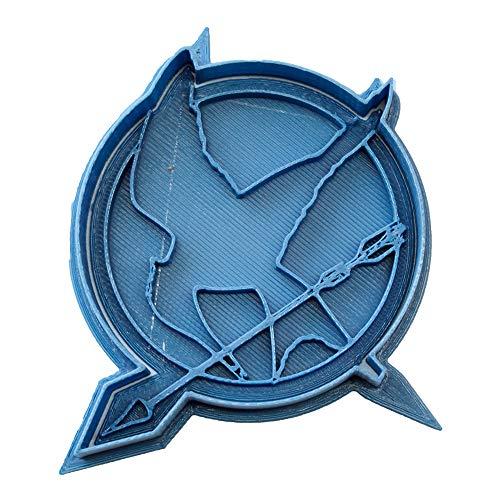 Cuticuter die Tribute von Panem Mockingjay Ausstechform, Blau, 8x 7x 1.5cm