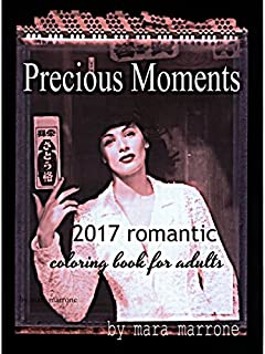PRECIOUS MOMENTS coloring book for adults 4