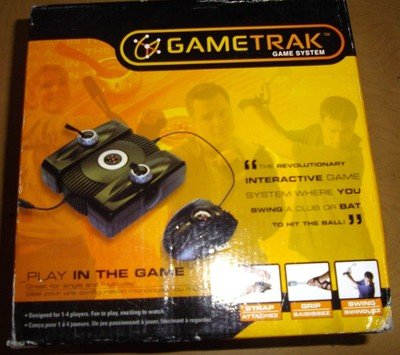 GameTrak Real World Golf for Playstation 2 (PS2) - Includes Gametrak base unit, foot pedal, and trak gloves