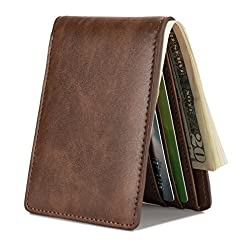 mens slim pocket wallet