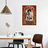 Vintage Zirkus Poster und Drucke Tätowierte Dame