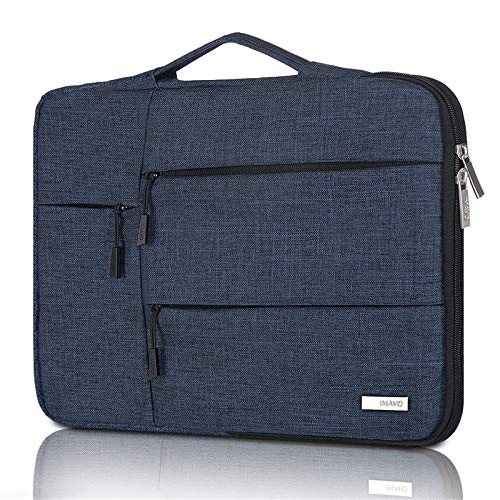 IMAVO 13-13.3 Inch Laptop Case Sleeve Laptop Bag Waterproof MacBook Case with Portable Handle, Compatible with 13' MacBook Pro and MacBook Air, 12.3' Surface Pro, Surface Laptop 2017/2018 Blue