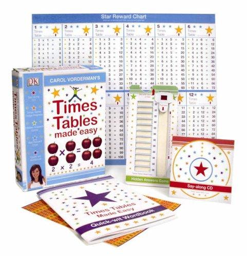 Carol Vorderman's Times Tables Made Easy (Carol Vorderman's Maths Made Easy)