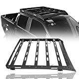 Hooke Road F150 Roof Rack Cargo Carrier Compatible with Ford Raptor & F-150 Super Crew 2009 2010 2011 2012 2013 2014 Pickup Truck