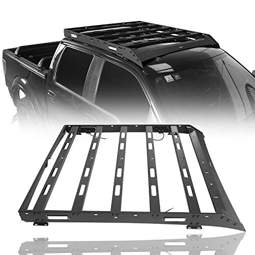 Hooke Road F150 Roof Rack Cargo Carrier Compatible with Ford Raptor & F-150 Super Crew 2009 2010 2011 2012 2013 2014