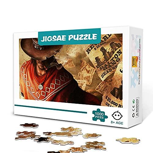 Impossible Puzzle 500 Piezas Top Games Call of Juarez Gunslinger Rompecabezas de...