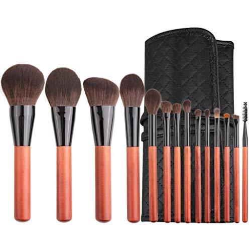 LHY- 14 Maquillage Sets Brosse Ensemble Complet d'outils de beauté Ombre à paupières Poudre Libre Brosse Cheveux Doux Mode