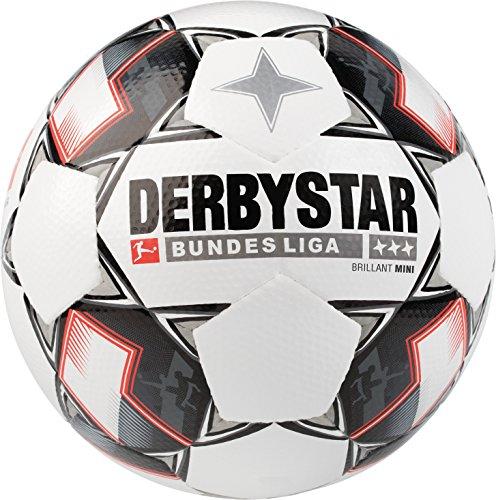 Derbystar Bundesliga Brillant Mini, 47 cm, weiß schwarz rot, 4300000123