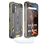 FZZSZS (3-Pack) Screen Protector for Cubot King Kong 5 Pro, Anti Scratch 9H Hardness Protective Film Premium HD Clarity Tempered Glass Friendly Designed for Cubot King Kong 5 Pro (6.09')