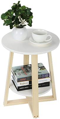 Amazon.com: Moderna mesa de 3 niveles, mesita auxiliar de ...