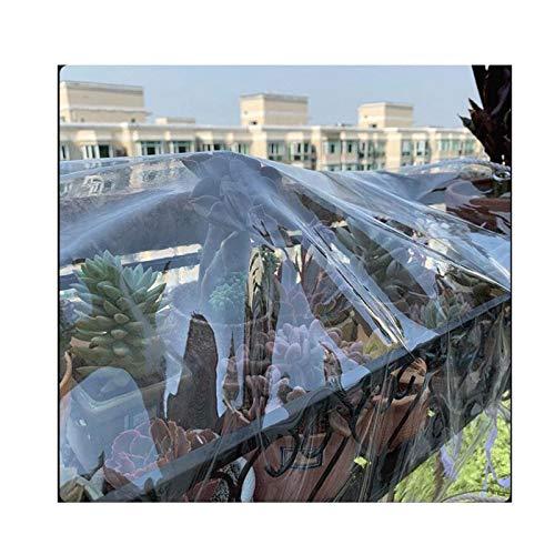 GGYMEI Bâche Transparente , Imperméable Et Coupe-Vent Convient for La Ferme De La Station Plastique, 21 Tailles (Color : Clair, Size : 1.8x4m)
